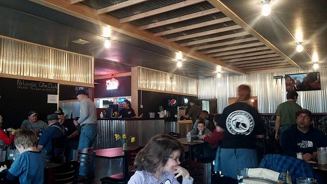 The Brick Wall Bar & Grill had just been renovated and ready to go before it burned down. - BRICK WALL BAR & GRILL