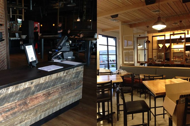 Selkirk Pizza & Tap House, left, and the Wandering Table, right, are both opening this week.