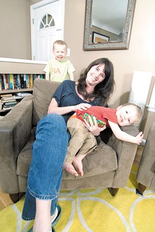 For Spokane mom Tine Reese, it became a simple imperative: I have to take care of myself and my baby. - TAMMY MARSHALL