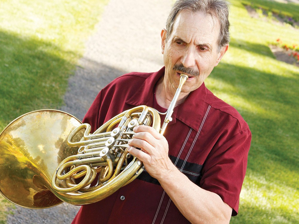 For two nights at Manito Park, Verne Windham will toot his own horn. - YOUNG KWAK