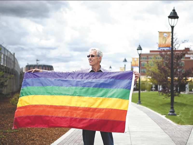 Former City Councilman Dean Lynch is to be honored as one of OutSpokane\'s Voices of Victory award winners during Pride Week. - STEPHEN SCHLANGE