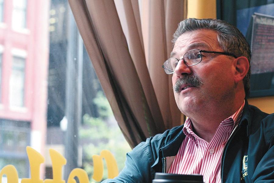 Former Spokesman editor Steve Smith. - CHRIS BOVEY