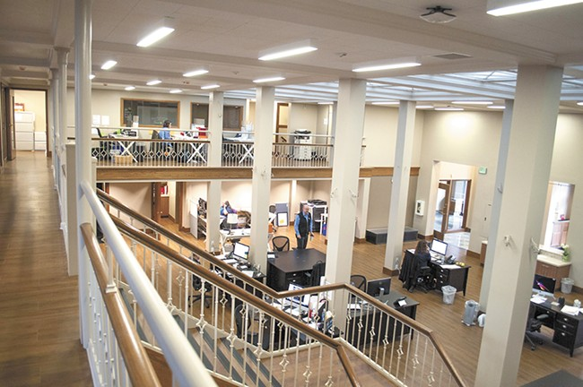 From its newly remodeled headquarters, Empire Health Foundation oversees $86 million in grants. - SARAH WURTZ
