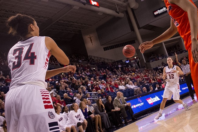 Gonzaga women's basketball has made a name for themselves independent of the men's success. - JAKE KELLY