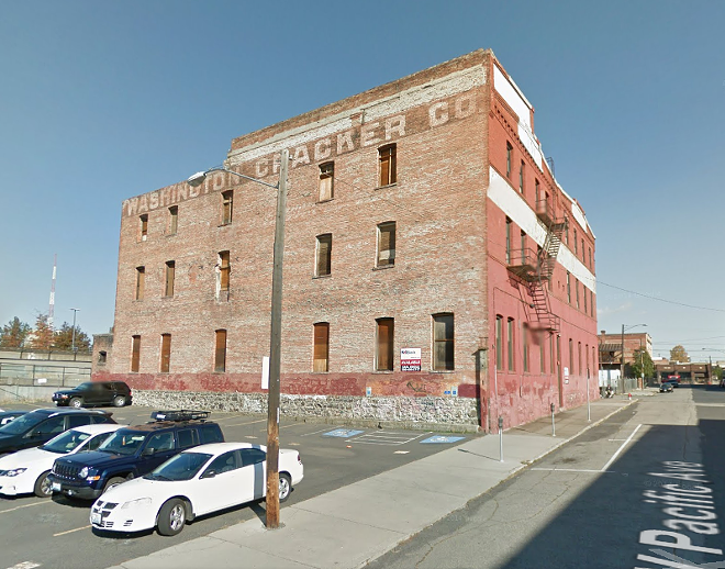Google Street View of the building's east-facing side.