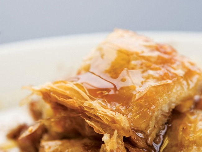Greek Street's baklava