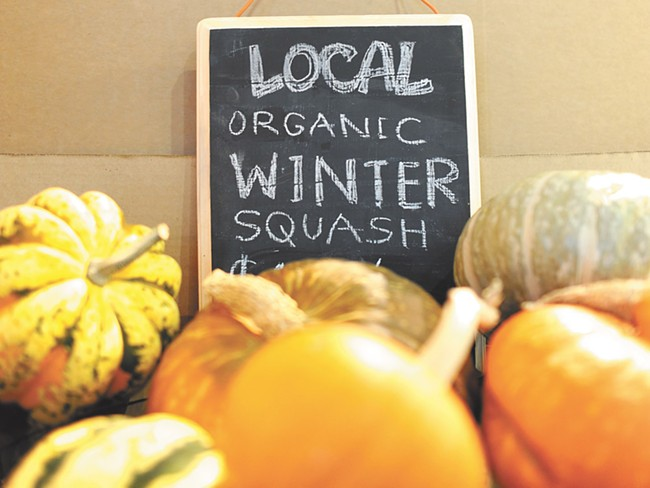 Grocers like Main Market have found ways to keep things local during the cold months. - CHRISTINA WILSON