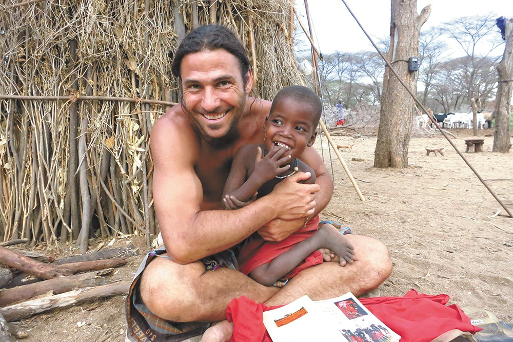 Hazen Audel's reality show has him immersed in the daily life of tribes around the world.