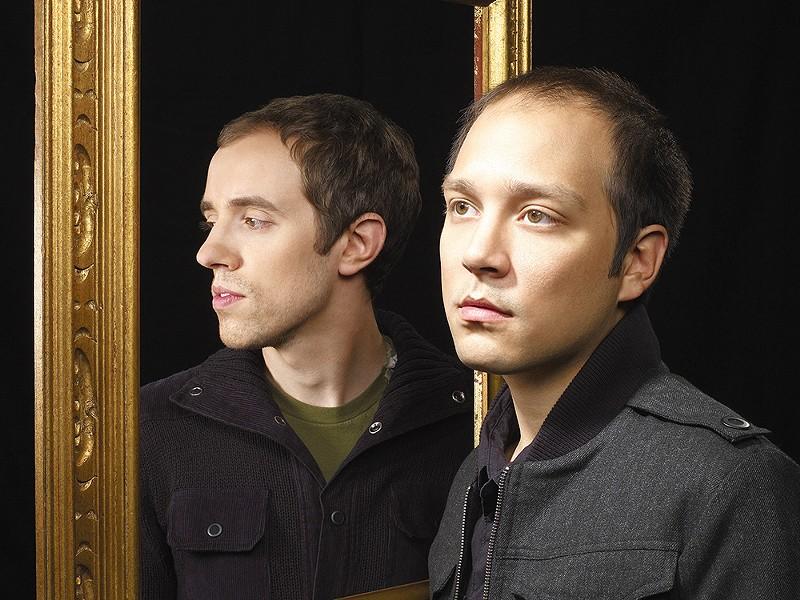 Helio Sequence: Benjamin Weikel (left) and Brandon Summers