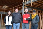 <p>Here we are last winter — me, Anne, Jer and Tamara — standing in what would become our new lobby in Kendall Yards. Business is hard — the hardest thing you'll ever do — so you need every advantage you can find. We've found out that it helps when you have family to rely on. Jer and I learned how to work hard every summer growing up as we worked at Grandpa Joe's warehouse, Peirone Produce. We also learned how to be leaders from our dad, Ted Sr., who picked up organization from the Navy — and corny jokes from the Internet. Anne and Tamara, lucky for us, both brought media backgrounds to the mix and continue to contribute as editors of our <i>InHealth</i> and <i>Annual Manual</i> publications. And most of all, Jer and I have relied on each other all these years — brothers can be blunt, have it out and still go to Thanksgiving together. Sometimes that's what it took to keep going. But to pull it all together, it had to be a mission — we had to care. And Spokane and the Inland Northwest brought that out in us — we want the best for this place we love. Yes, it's been hard, but it's been worth every minute. Now I've got a polo match to play…</p>