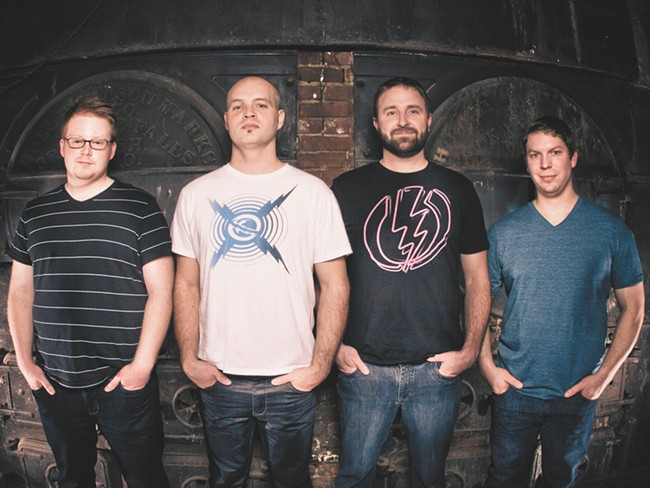 House of Ghosts (L to R): Wes Davidson, Damian Putney, Dan McCready, Nick Dotson - SHAYNE GARCIA