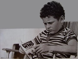 Years later, little Steven Moffat grew up to be criticized by Doctor Who nerds like him.