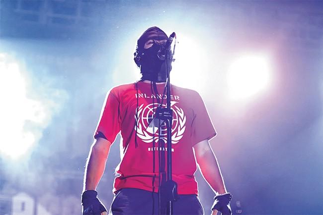 Inlander onstage at Rock in Celebes music festival last December in Makassar, Indonesia. - HENDISGORGE