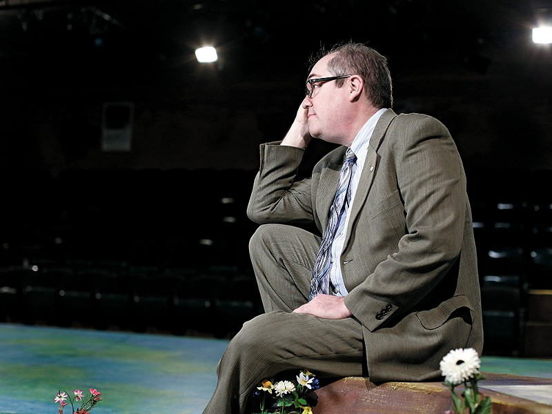 Interplayers\' Artistic Director Reed McColm says the theater needs $150,000 by May 31 to remain in operation. - YOUNG KWAK