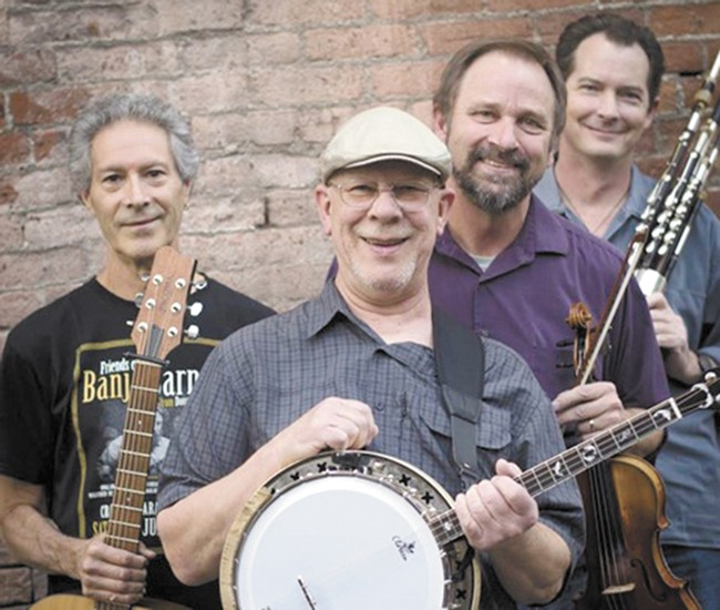 Irish band Floating Crowbar plays locally all year round.