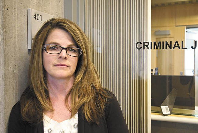 Jacqueline van Wormer has been tapped to help shepherd criminal justice reforms. - JACOB JONES
