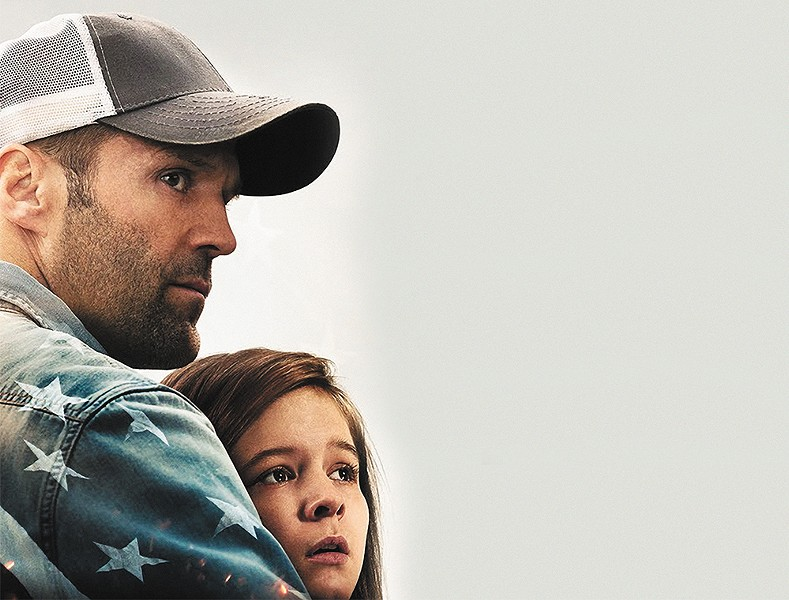 Jason Statham tries his hand at family life.
