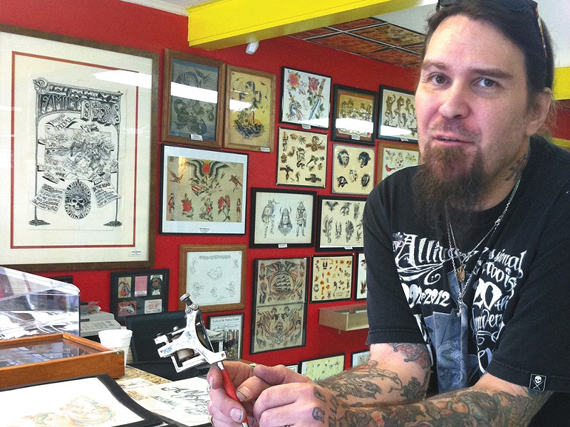 "Jay Brown: ""Tattooing has deep history."" - CARRIE SCOZZARO"