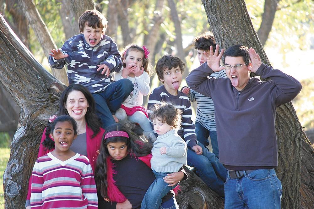Jennifer Griffis, her husband and their seven children (five biological, two adopted) have struggled to find mental health treatment for their daughter in rural Idaho. - JENNIFER GRIFFIS