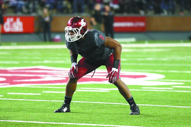 Jeremiah Allison has made the adjustment from L.A. to the Palouse to help anchor the WSU defense.