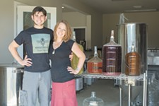 Jeremy and Michelle Kyncl of Hierophant Meadery. - ADAM MILLER