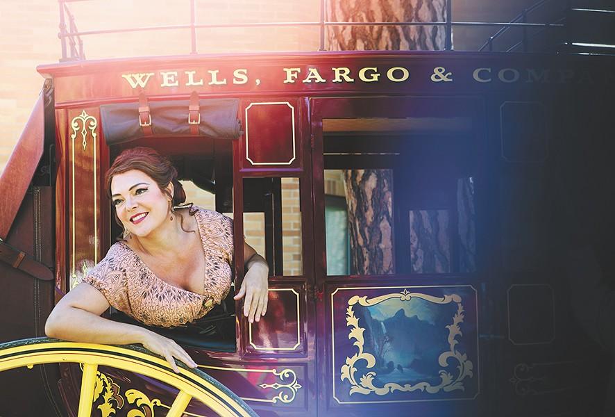 Jill Gardner in Opera Coeur d'Alene's recent  Girl of the Golden West - KRISTEN BLACK