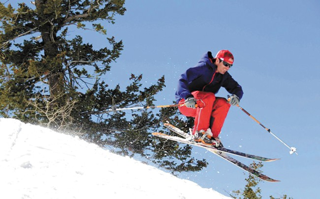 Joe Johnson is a ski industry account manager. - BOB LEGASA