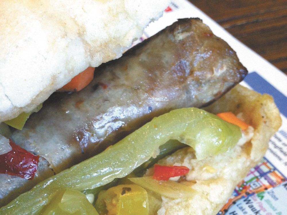 Joey T's has the only Vienna Beef dog for hundreds of miles.