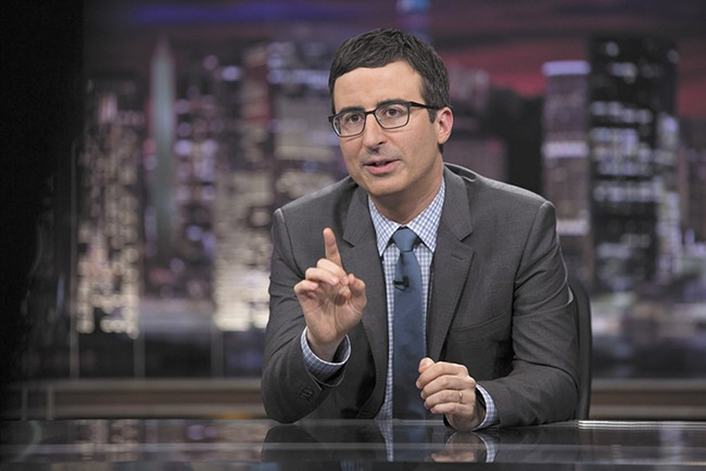 John Oliver, host of Last Week Tonight on HBO, has spoken passionately on the importance of net neutrality, but Project Censored argues that the issue still hasn't received enough coverage from corporate media outlets.