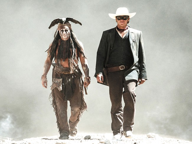 Johnny Depp in his least PC role since Hunter S. Thompson.