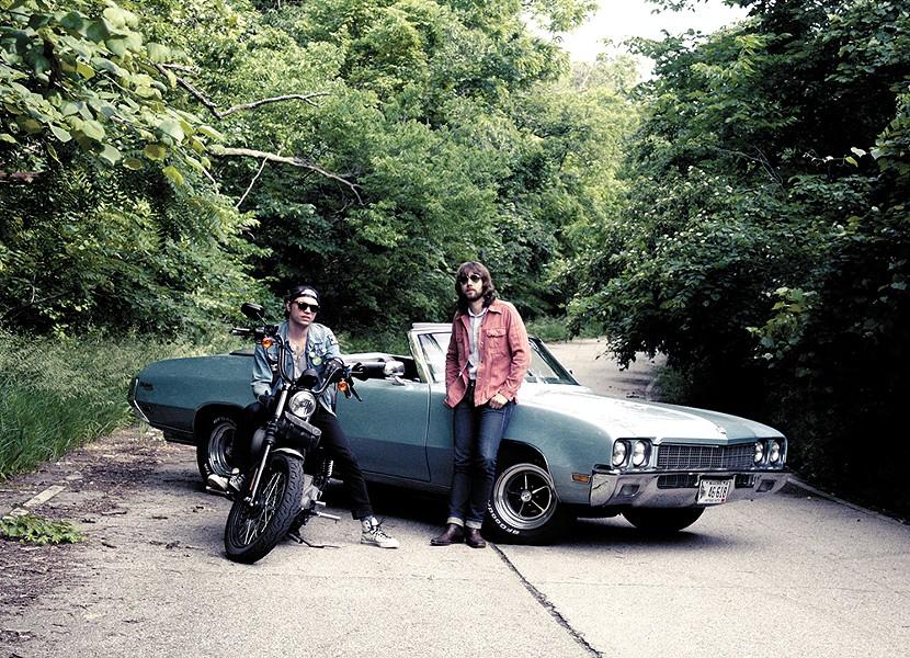Josh Berwanger, left, and Michael Hutcherson start anew with Josh Berwanger Band. - REBECCA ARMSTRONG