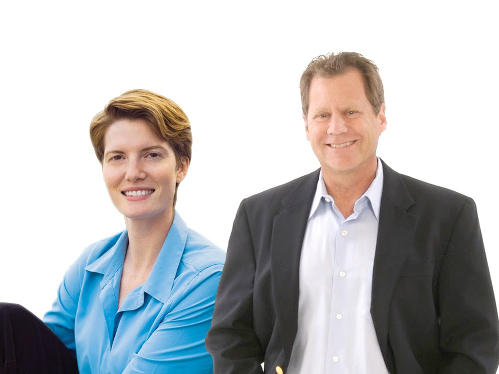 Joy Jones and Steve Salvatori