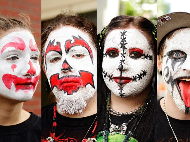 Juggalos at the Knitting Factory on June 3, 2010 - YOUNG KWAK