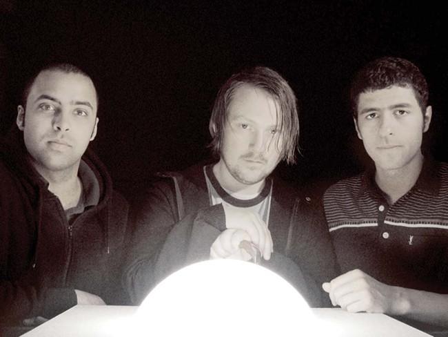 Junip (from left): Elias Araya, Tobias Winterkorn, José Gonzalez