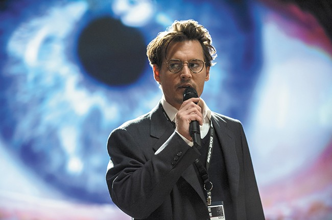 Just when you think Johnny Depp can't play a weirder role, he gives us Transcendence.