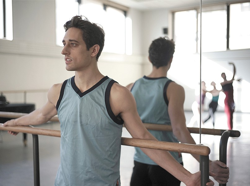 Justin Peck, the subject of Ballet 422.