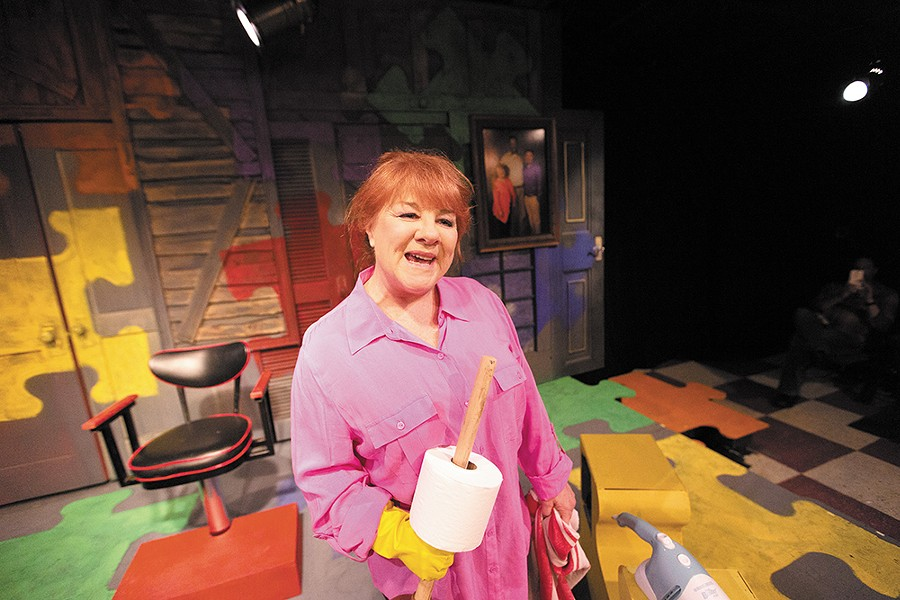 Kathie Doyle-Lipe as Becky Foster in the Civic's Becky's New Car. - YOUNG KWAK