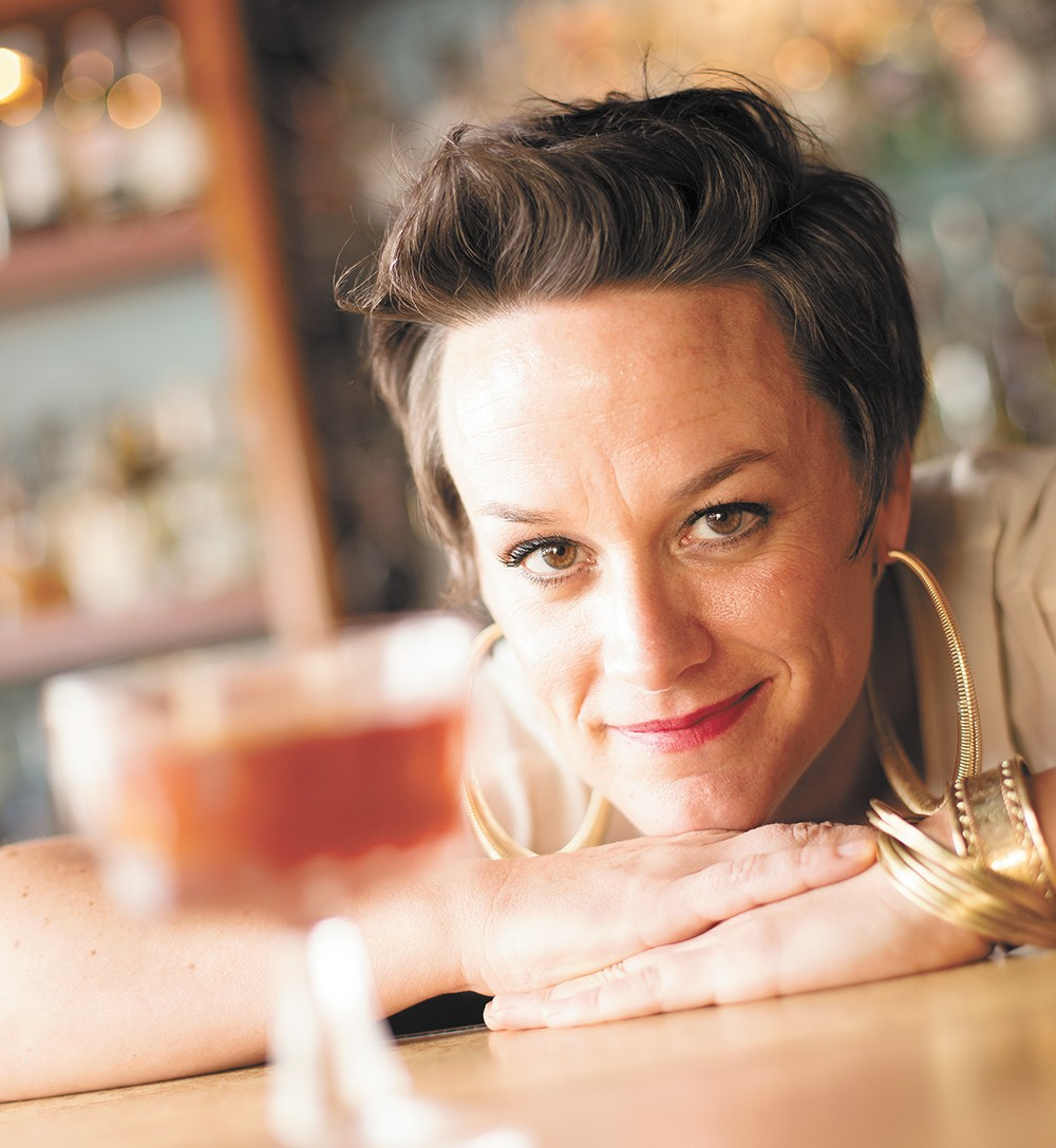Kristy White, a bartender at Bon Bon and Clover. - YOUNG KWAK
