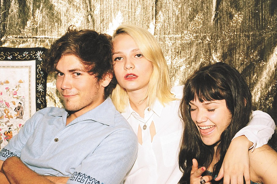 L.A. garage rock trio Cherry Glazerr sings about important things like grilled cheese sandwiches and white clothing.