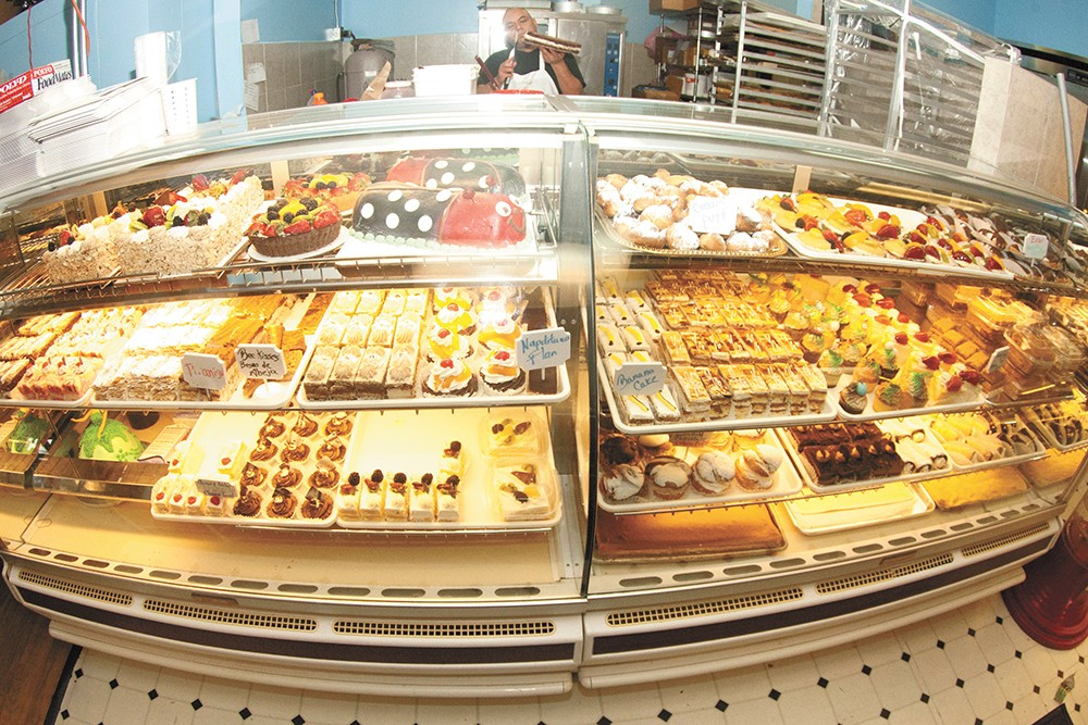 La Michoacana still serves classics, but now they've added a Mexican bakery. - MEGHAN KIRK