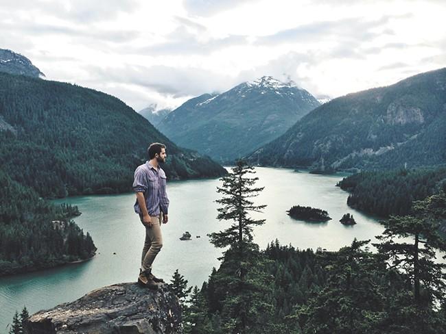 Lake Diablo, Cascade Mountains - JOE GREER