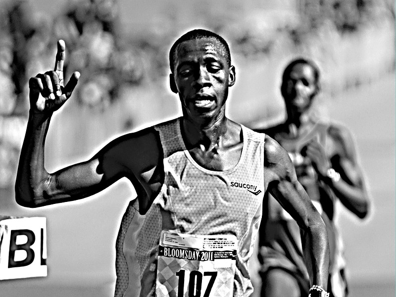Last year's men's champ, Simon Ndirangu - BRIGHTROOM.COM