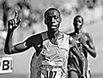 Last year's men's champ, Simon Ndirangu