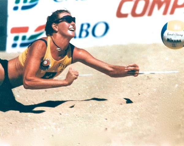 Leipham came back from injury as a volleyball player. - BOB LEGASA