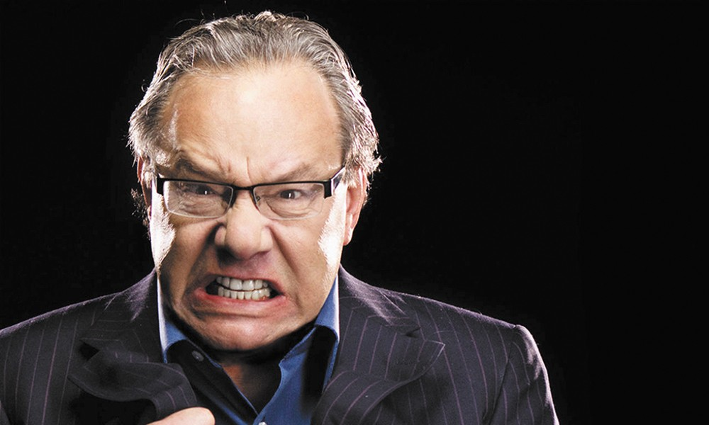 Lewis Black: Channeling anger on both stage and screen, like in his forthcoming role as Anger in Pixar's Inside Out .