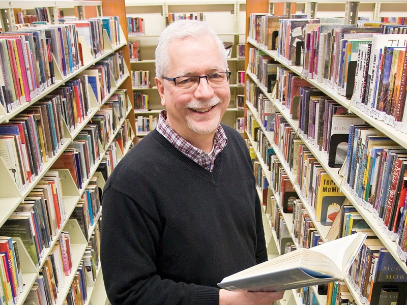 Libraries still, indeed, have books. - JEFF FERGUSON