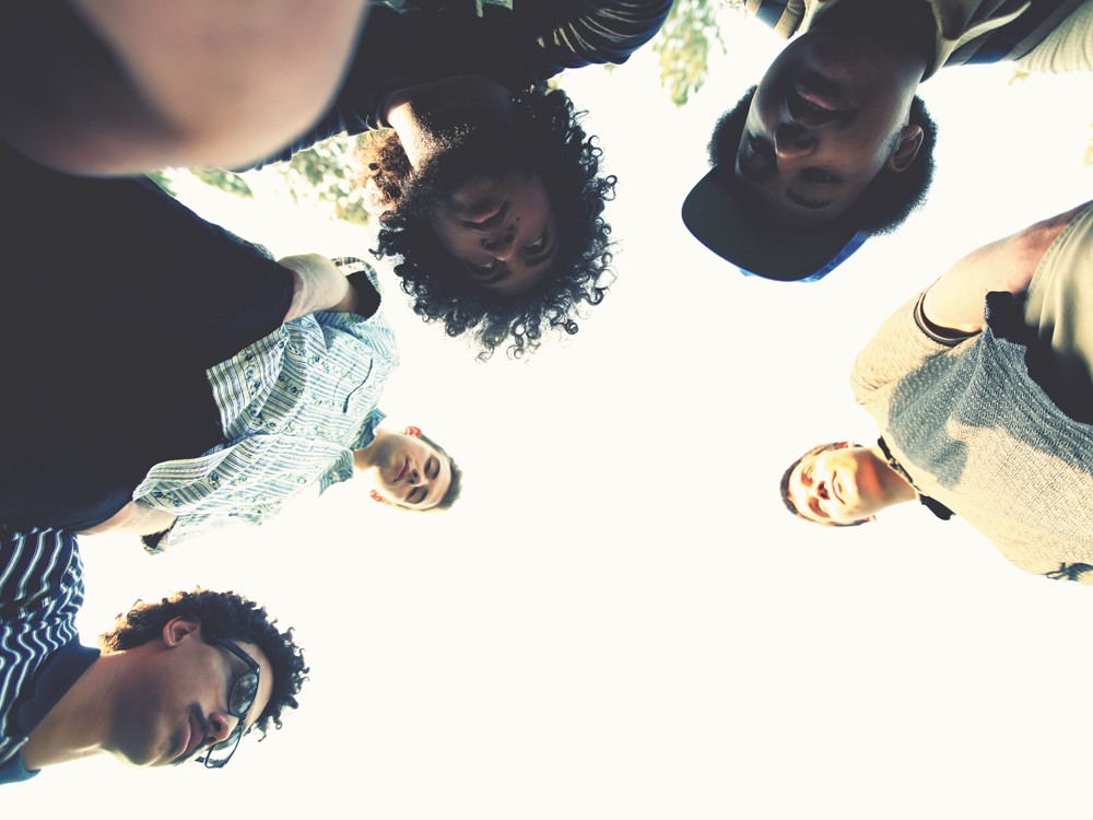 Lilac Linguistics (clockwise from bottom left): Roman Keyes, Corban Couey, Milton Armstrong, Isaiah Armstrong, Kyle Luders. - YOUNG KWAK