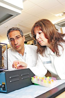 Lisa Shaffer and Bassem Bejjani brought their innovative way of looking deep inside human genes to Spokane; now they have a staff of more than 100 and test for developmental disabilities all over the world. - YOUNG KWAK