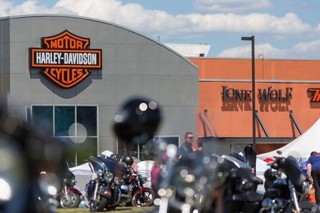 Lone Wolf Harley Davidson played host to the Pacific Northwest HOG Rally and over 1,600 registered riders. - MATT WEIGAND