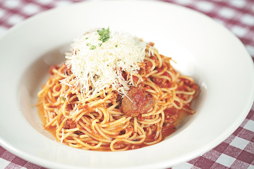 Luigi's pasta has made them a downtown staple for more than a decade. - YOUNG KWAK